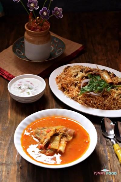 Andhra Style Mutton Dalcha