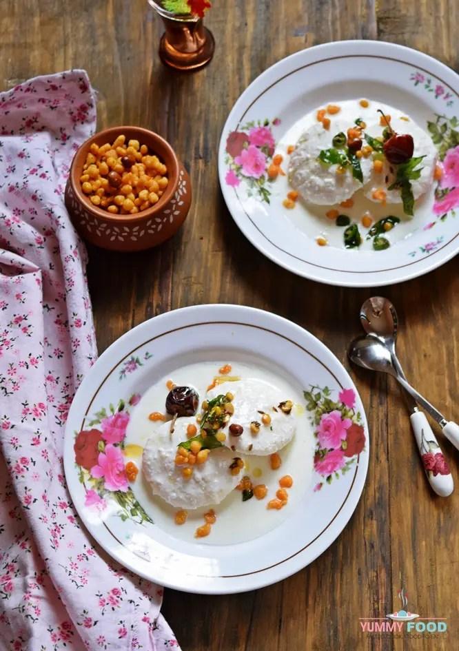 Summer Meal Thayair Idli