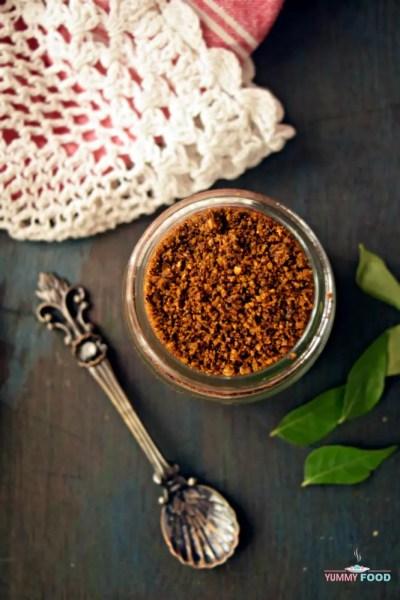Karivepaku Karam Podi – Spicy Curry Leaves Powder