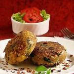 Delicious Vegan Indian Snacks - Aloo Tikki