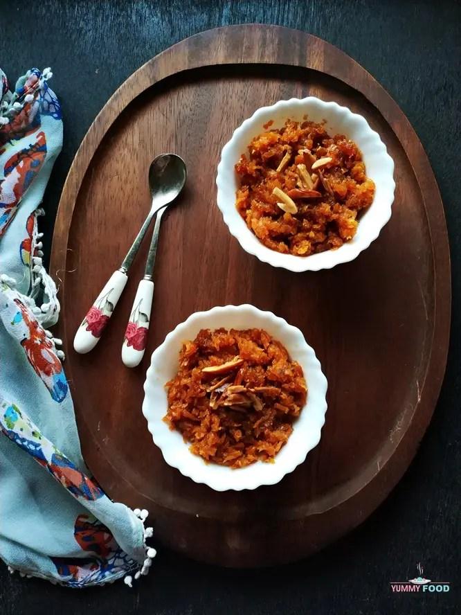 Vegan Carrot Halwa