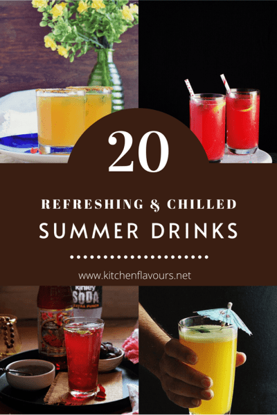 20 Must Try Summer Drinks to Beat the Heat