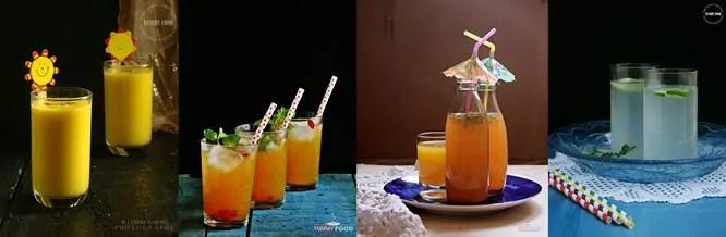 Mango Summer Drinks