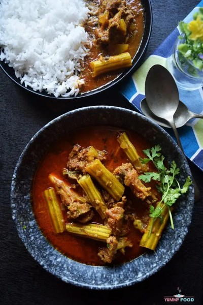 Mutton Drumstick Curry