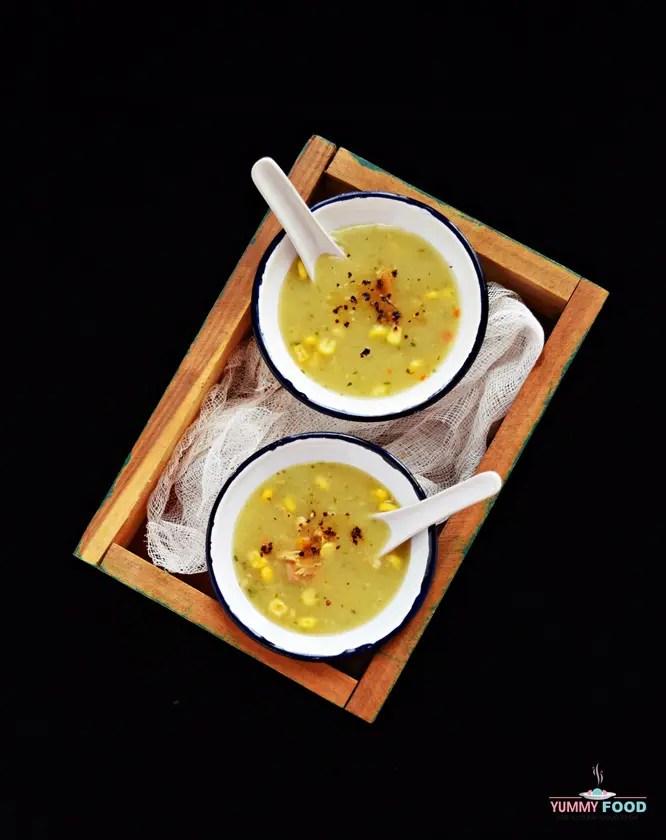 Immunity Boosting Chicken Sweet Corn Soup