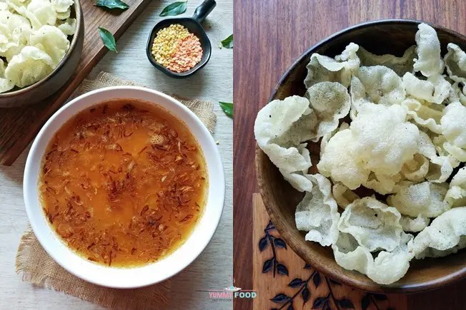dal with fryums