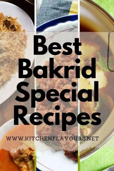 Best Bakrid Special Recipes