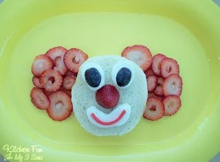 PB&J Clown Lunch