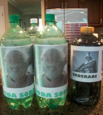 Yoda Soda and Vaderade