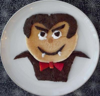 Dracula Pancakes!