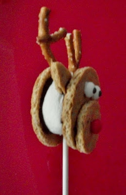 Rudolph the Red Nosed S'mores Pop!