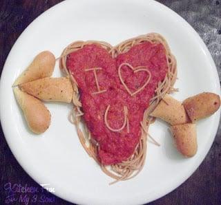Valentine Spaghetti