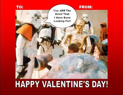 Star Wars Valentine's Day FREE Printable!