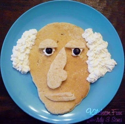 Presidents Day George Washington Pancakes