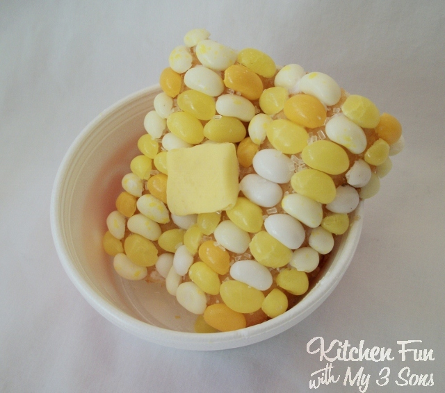April Fools Corn With Jelly Beans