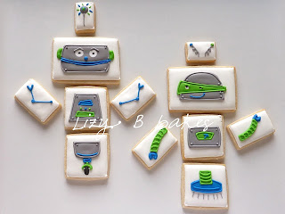 Mix & Match Robot Cookies