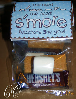 S'mores Teacher Appreciation Gift