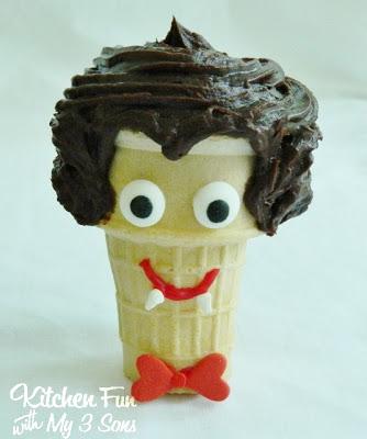 Dracula Cupcake Cone