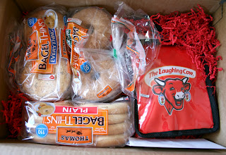 The Laughing Cow Cream Cheese & Thomas Bagel Thins