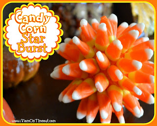 Candy Corn Starburst