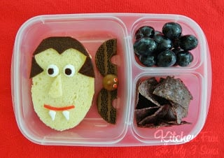 Halloween Dracula Bento Lunch