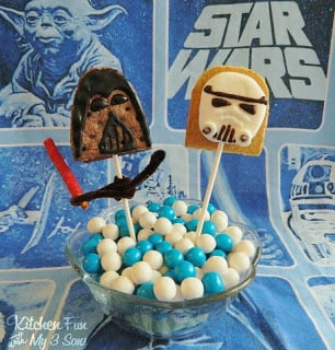 Darth Vas'more Pop and our S'more Trooper Pop