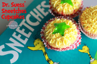 Sneetch Cupcakes