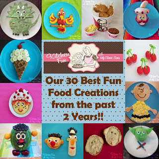 our 30 favorites out of over 500 original fun food creations we have made