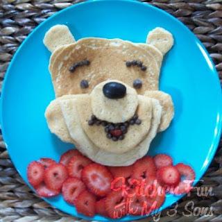 Pooh Pancakes