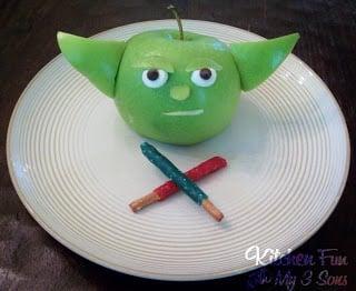 Yoda Fruit Snack