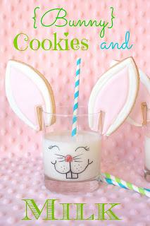 Bunny Cookies & Milk