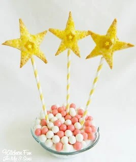 Princess Wand Lemon Star Pie Pops