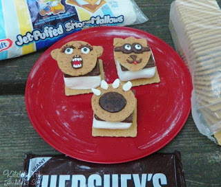 Animal S'more Toppers