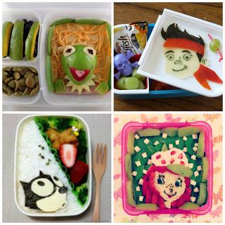 Bento TV Show Lunch Ideas