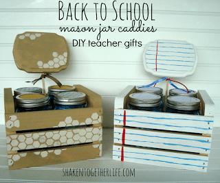 Mason Jar Back to School Teacher Gift