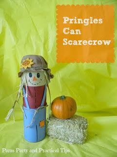 Pringles Can Scarecrow