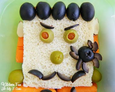 Frankenstein Sandwich