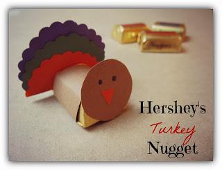 Hershey's Turkey Nugget Craft