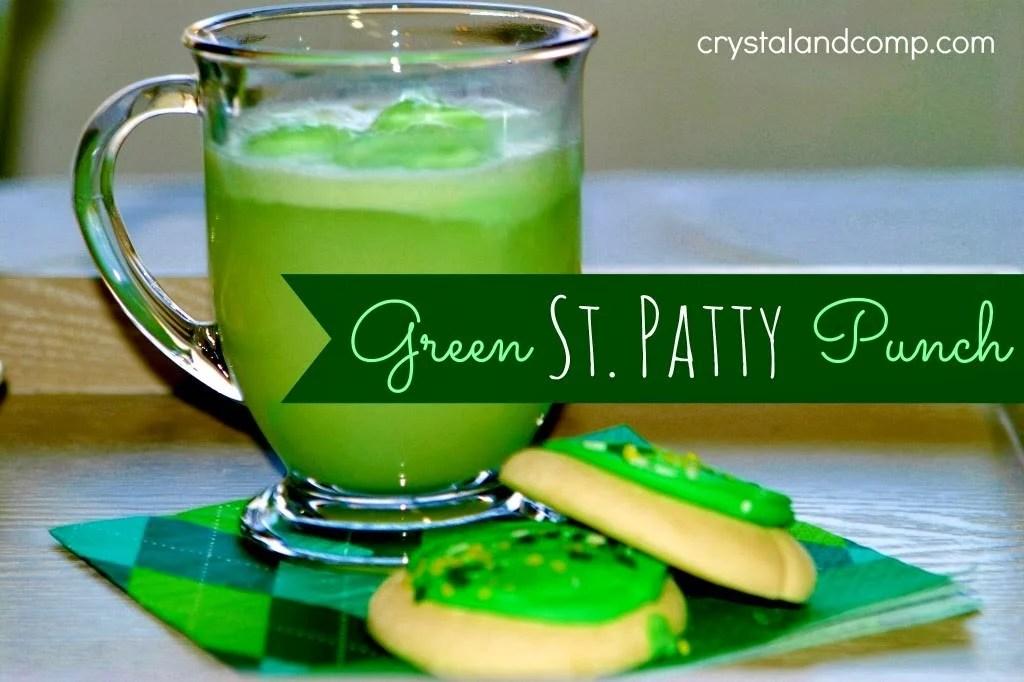 Green St. Patty Punch
