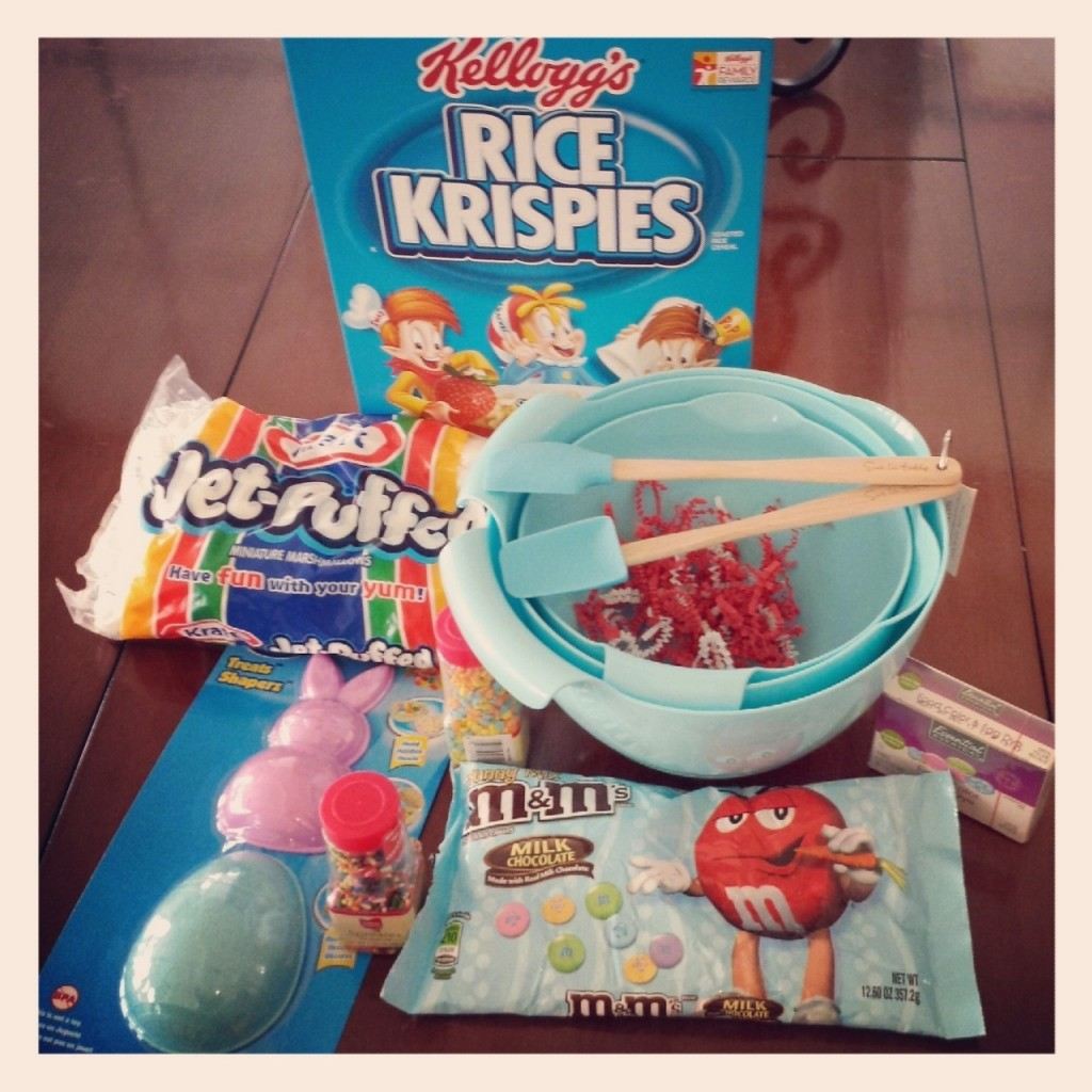 Rice Krispies sent us this fun box of goodies to help us create our fun treats