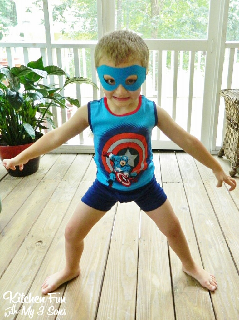 We then purchased him this super hero undie set & he turned into Super Potty Boy!