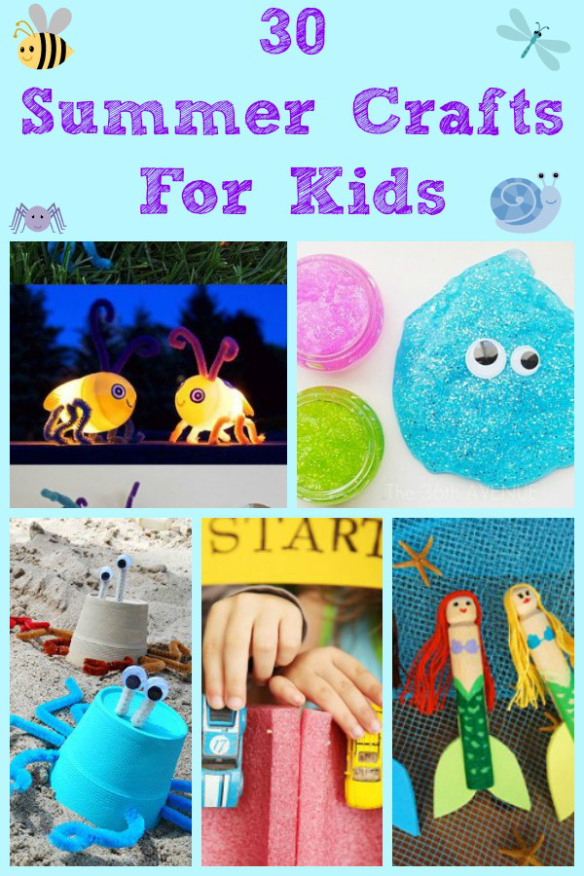 30 Summer Activities for Kids