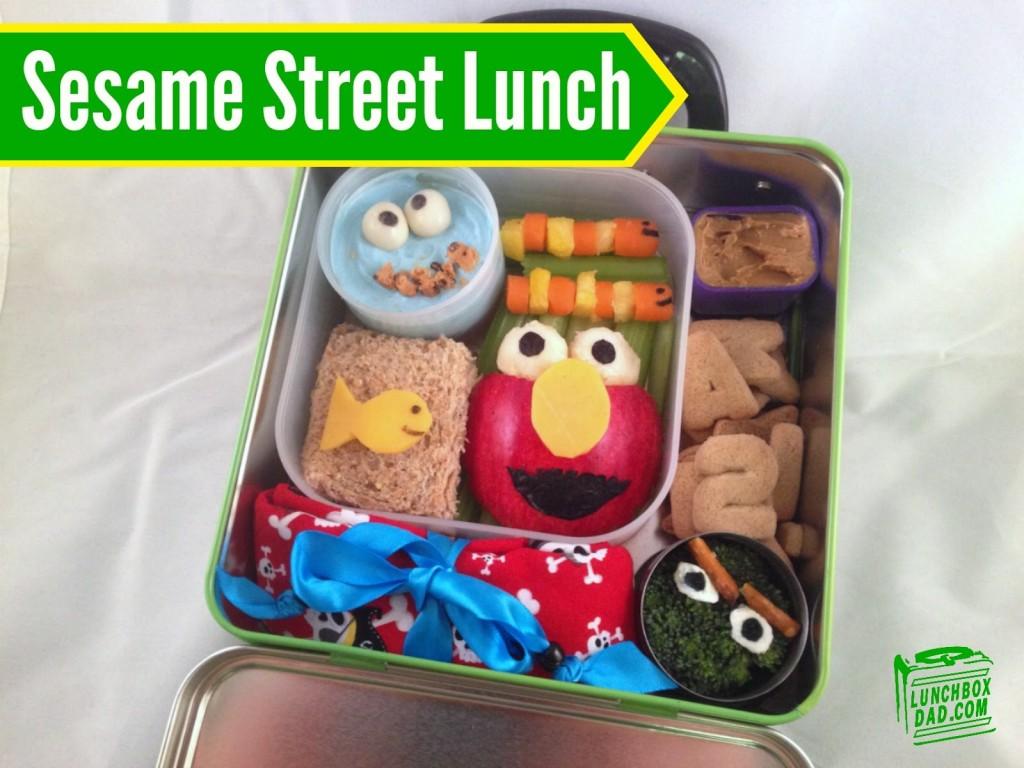 Sesame Street Bento