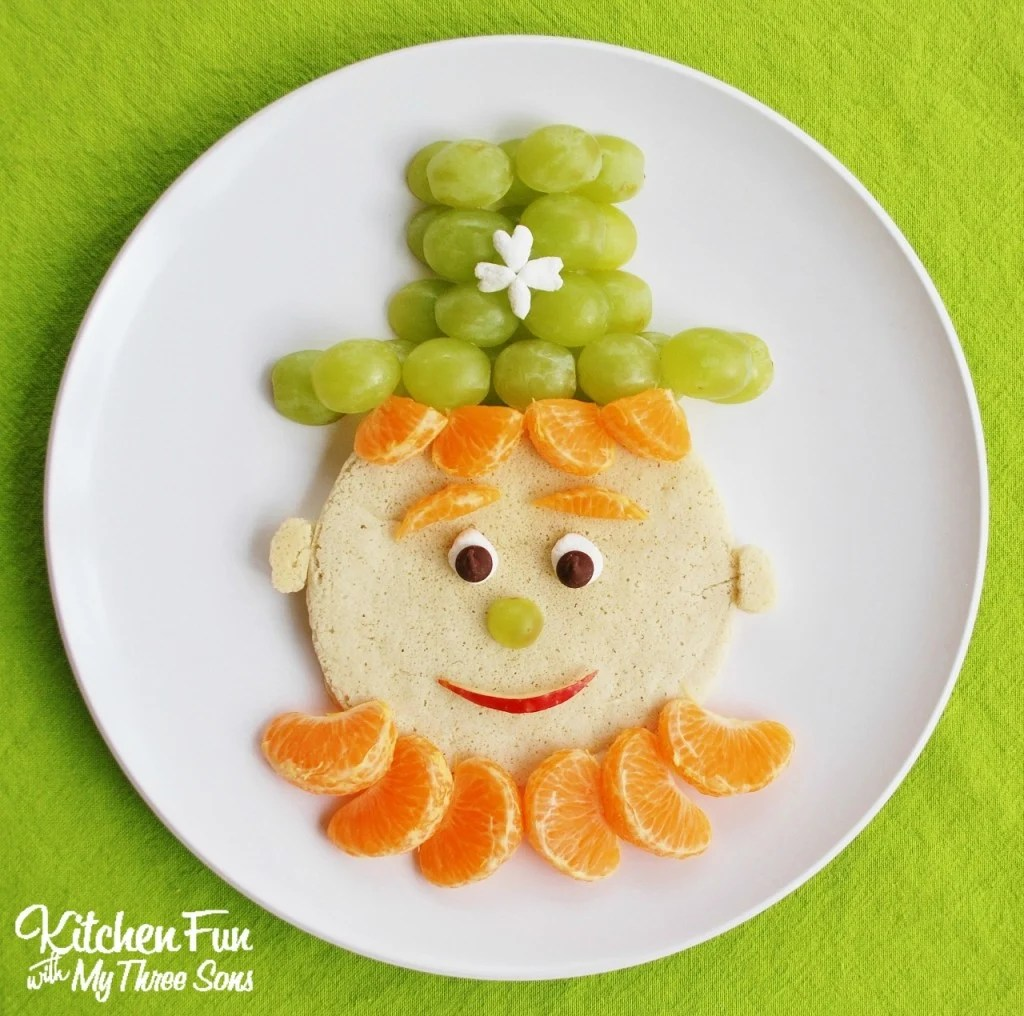 St Patrick S Day Leprechaun Pancakes For Breakfast