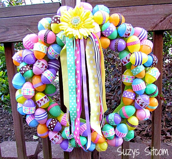 DIY Easter Ribbon Wreath
