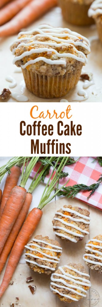 Carrot Cake Coffee Muffins