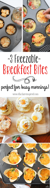 3 Freezable Breakfast Bites