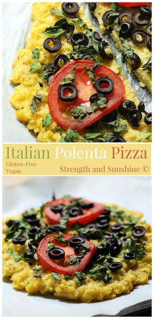 Italian Polenta Pizza
