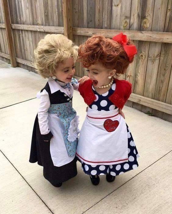 Lucy & Ethel Halloween Costumes