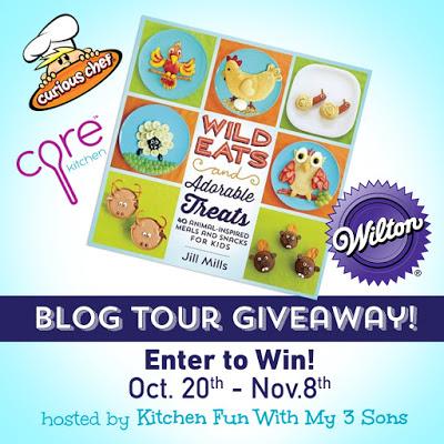Wild Eats & Adorable Treats Blog Book Tour Kitchen GIVEAWAY!!